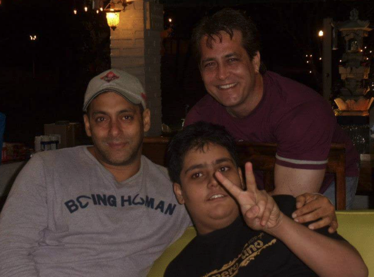 Salman-Khan and-Packard-Family